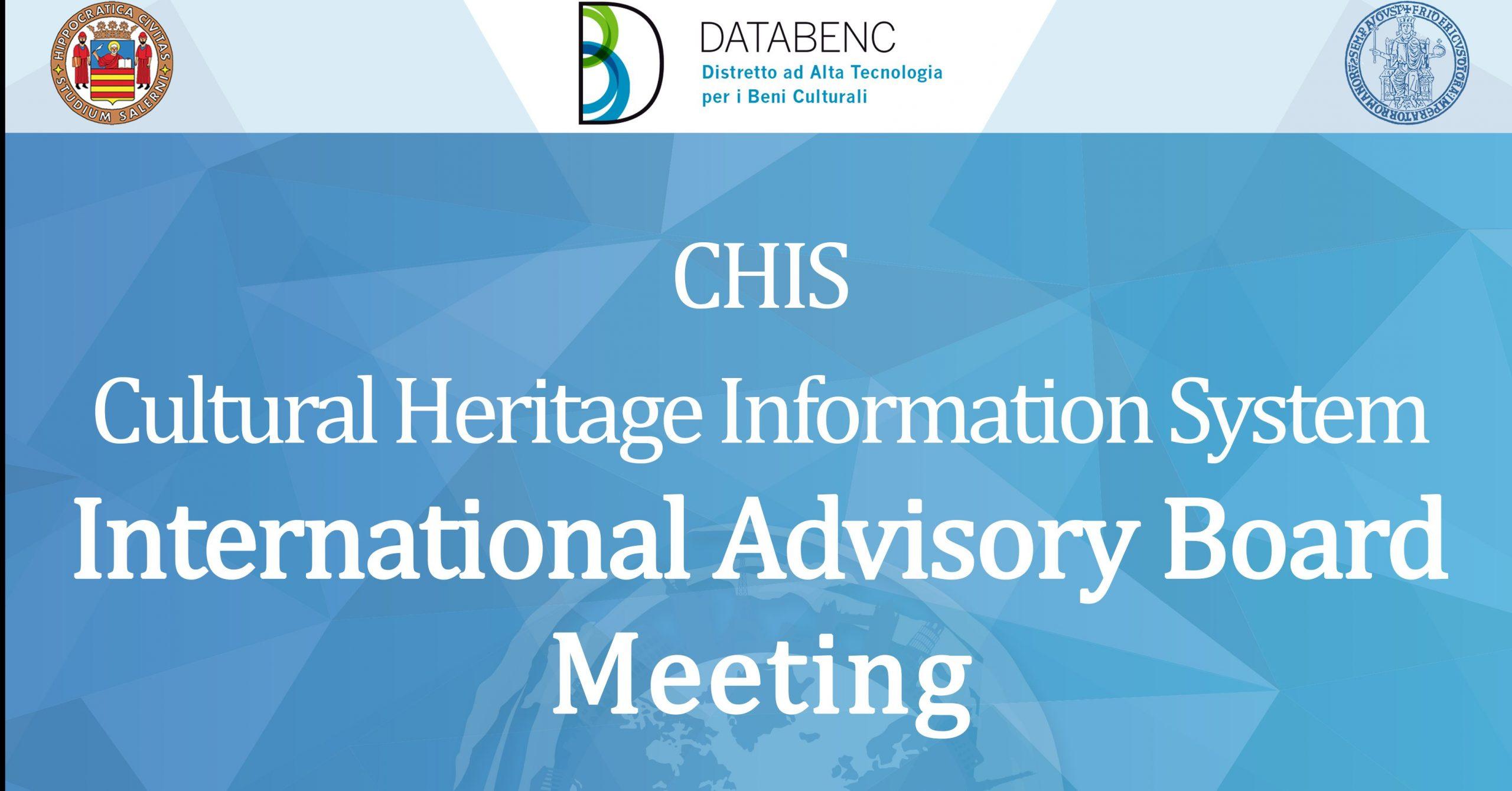 International Advisory Board (IAB): presentazione dei risultati intermedi di progetto