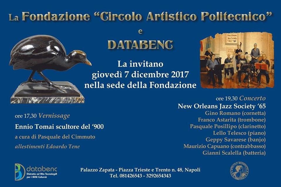 Vernissage Mostra Ennio Tomai & Concerto Jazz NOJS'65