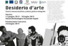"""Presentazione """"Desiderio d'arte"""": Mostra Concorso Regionale"""