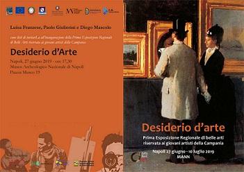 "Mostra Concorso Regionale - ""Desiderio D'arte"""