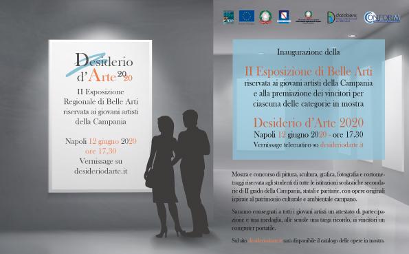 """Inaugurazione Mostra Concorso """"Desiderio D'arte 2020"""""""