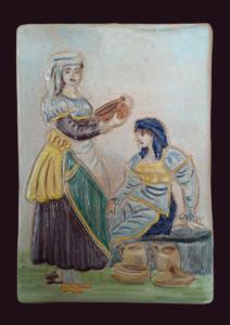 Donne in costume di Cascano
