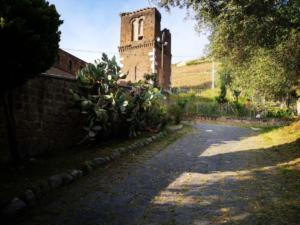 Passeggiate all'ombra di casa Hirta - Il campanile di San Pietro ad Montes