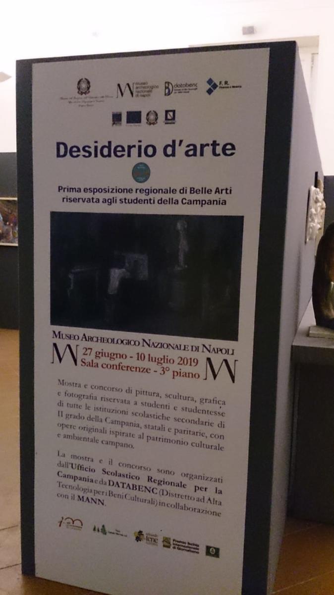 """Inaugurazione Mostra Concorso """"Desiderio D'arte"""""""